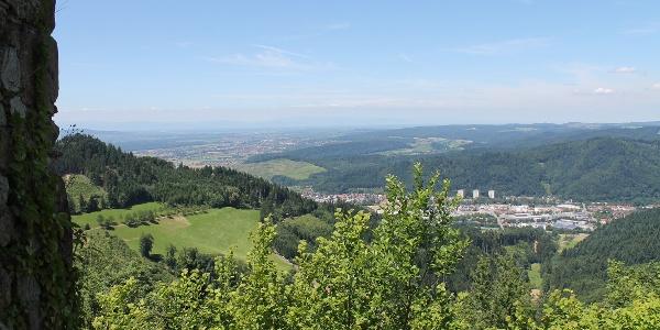 Blick von der Schwarzenberg-Ruine