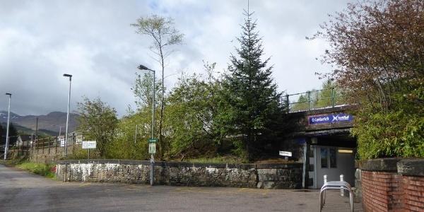 Crianlarich - Bahnhof