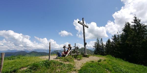 Gipfelkreuz auf dem Bleicherhorn