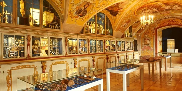 Schatzkammer der Basilika in Maria Taferl
