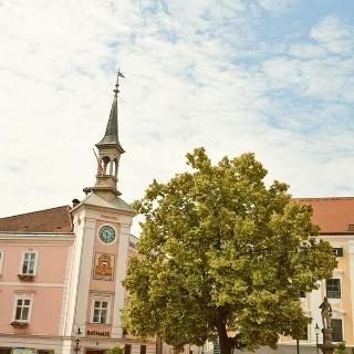 Hauptplatz von Ybbs an der Donau