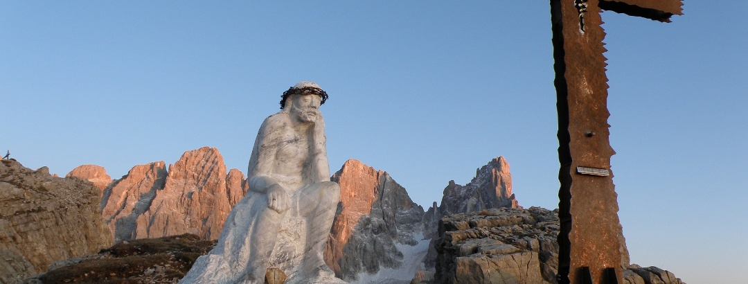 Cristo Pensante Sonnenuntergang