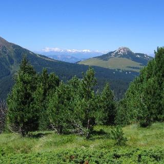 Panorama sul Corno Nero e sul Corno Bianco