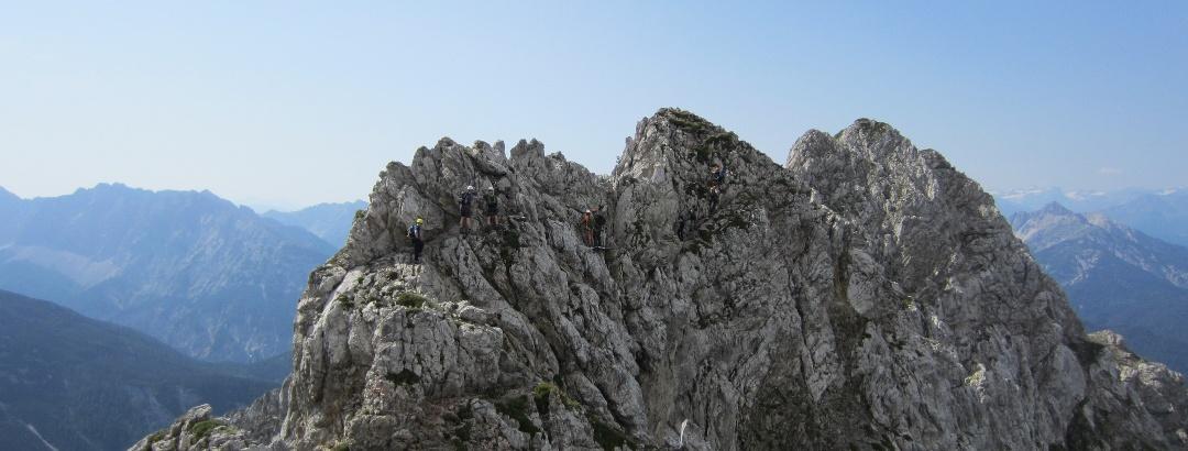 Aussicht vom Mittenwalder Höhenweg