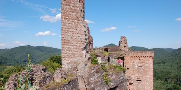 Burgenmassiv Alt-Dahn