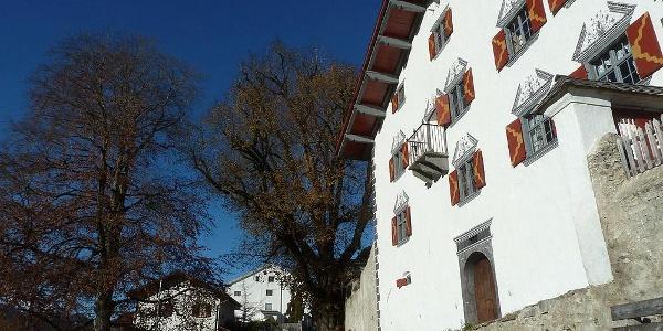 Sehenswert: die historischen Sprecherhäuser in Luzein