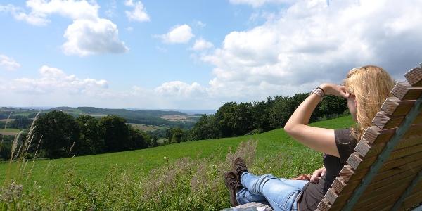 Landschaftsliege in Niese