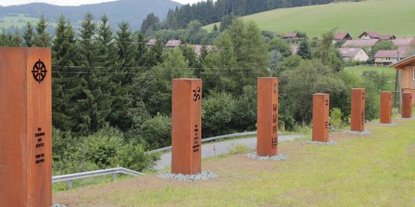 Säulen der Toleranz (Start beim JUFA Knappenberg)