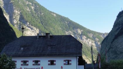 Ausgangspunkt Gasth. Stegenwald (Paß Lueg)