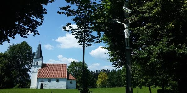 Nikolauskapelle am Gipfel des Nikolaibergs