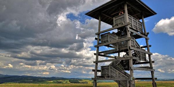Der 'Landesblick' auf dem Maarberg
