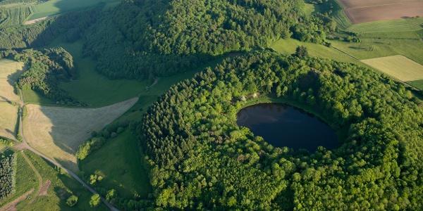 Der Windsborn-Kratersee