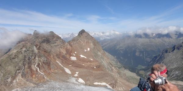 Wasserkopf, im Hintergrund Zillertaler Alpen