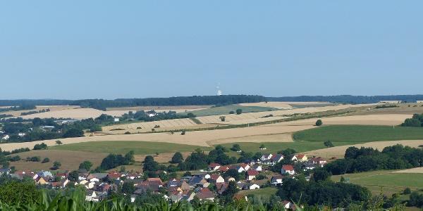 Fernblick Grenzhöhe Dietrichingen