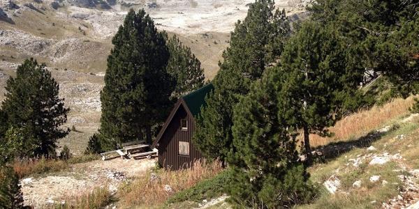 Mountain Hut Vrutak