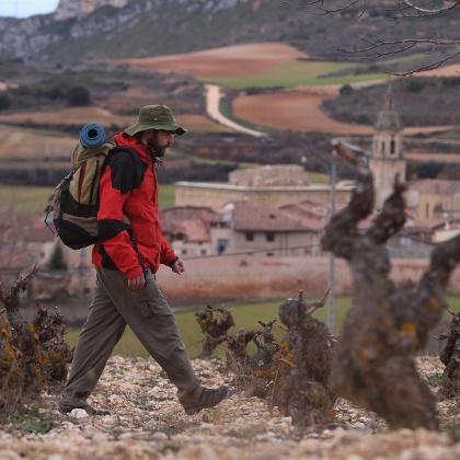 Senderismo en la Rioja Alavesa