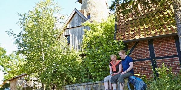 Levedags Mühle: Rast