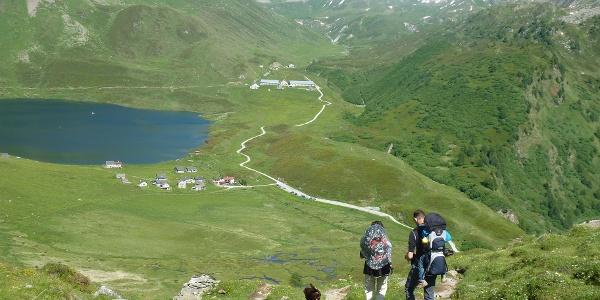 Blick ins Val Piora
