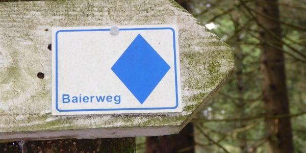 Baierwegmarkierung