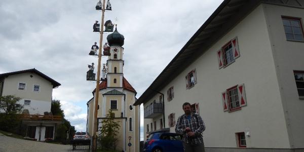 Marktplatz von Kollnburg