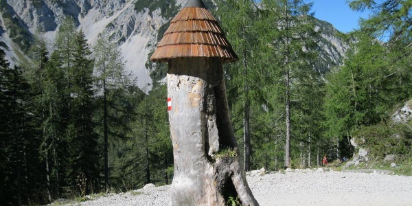 Abstieg von der Klagenfurter Hütte