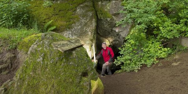 Die Mühlsteinhöhlen