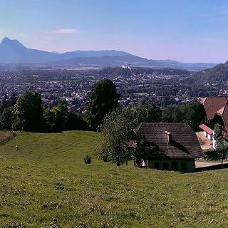 Auffahrt zum Gaisberg