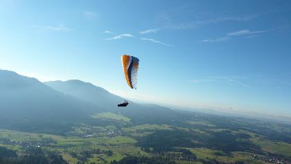 Paragliden am Hörnle in Bad Kohlgrub