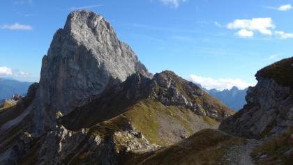 Monte Chiadenis vom Passo di Sesis