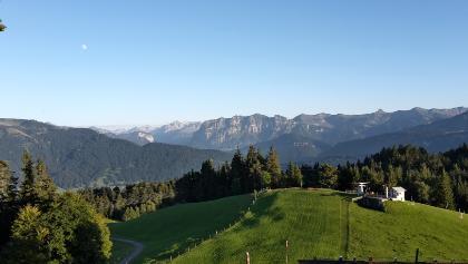 Blick in die Bergwelt des Bregenzerwaldes