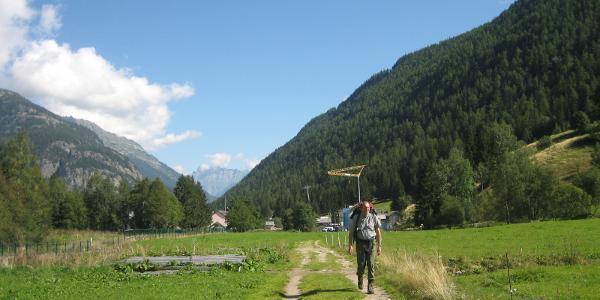 Im Tal hinter Vallorcine