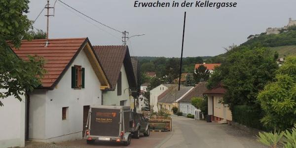 Kellergasse (Copyright: Fam. Weinmann)