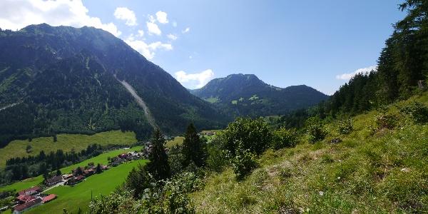 Aussicht auf den Breitenberg