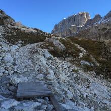Aufstieg zur Grasleitenpasshütte