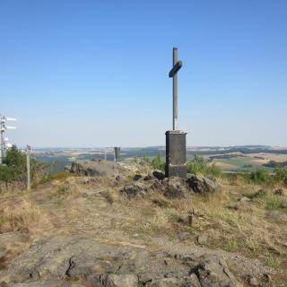 Gipfelkreuz Schwartenberg (Aug. 2015)