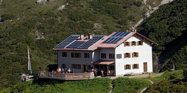 Ausgangspunkt Steinseehütte; 2061m