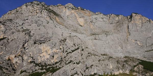 Der Monte Casale von unten