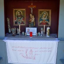 Kapellen als Zeichen des Volksfrömmigkeit: Kapelle bei Waldhorn/Wimm