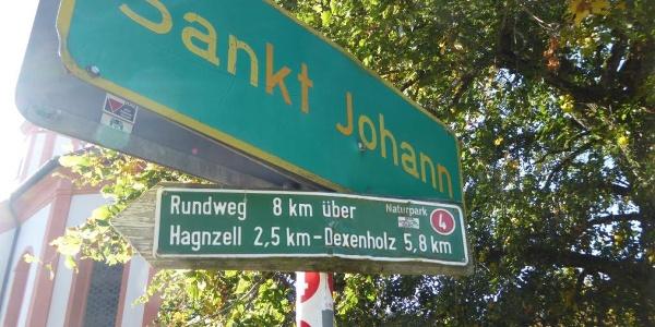 Rundweg St. Johann