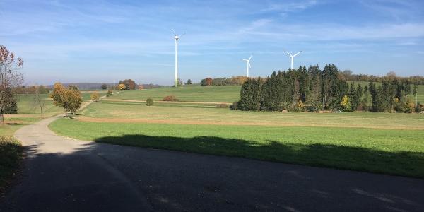 Windräder Wiesenried