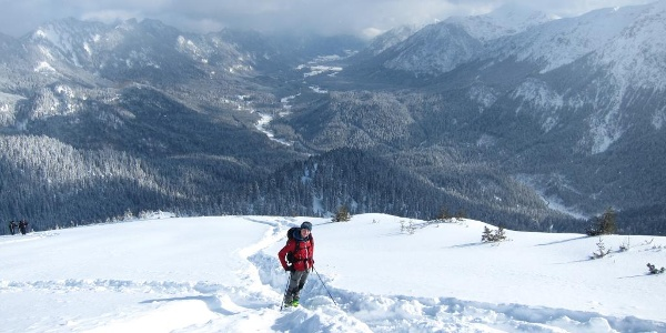 Scheinbergspitze mit Blick ins Graswangtal