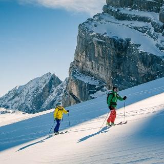 Dachstein Überquerung Österreichs National Skitour