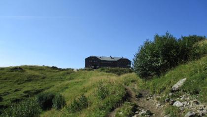 Blick zur Hofpürglhütte