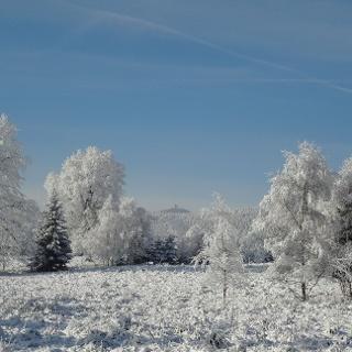 Winterlandschaft um Elend