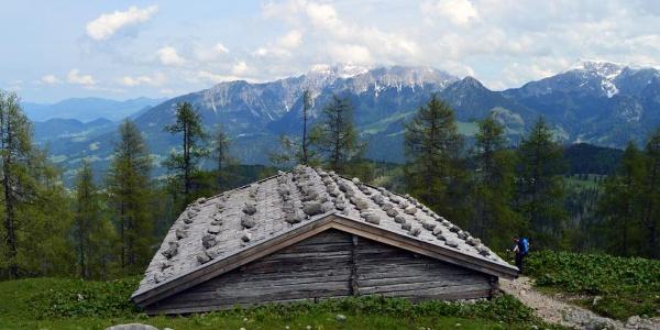 Die Falzalm | Wanderung zum Watzmannhaus