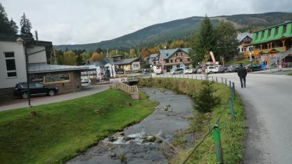 Spindlermühle  Ortsmitte/ Labe