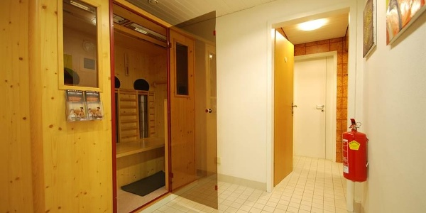 Saunabereich - Infrarotkabine