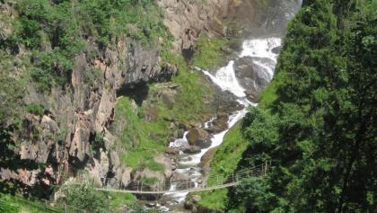 Der Fragsburger Wasserfall