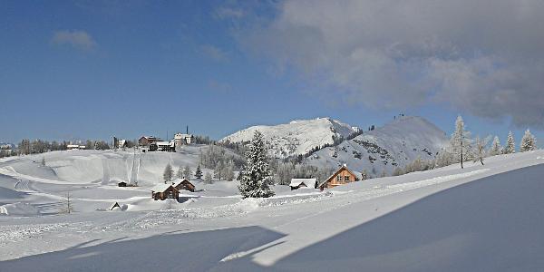 Tauplitzalm Überblick Almdorf