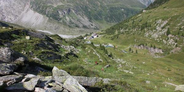 Bereich oberhalb der Berliner Hütte
